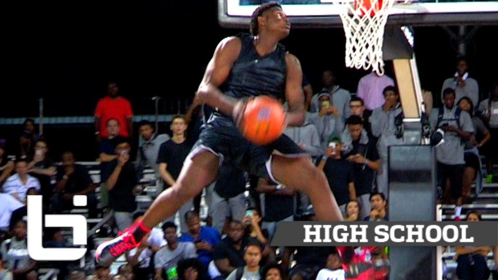 16Yr Old Zion Williamson Is Gunnin' For That #1 Spot! Ballislife Summer Mix