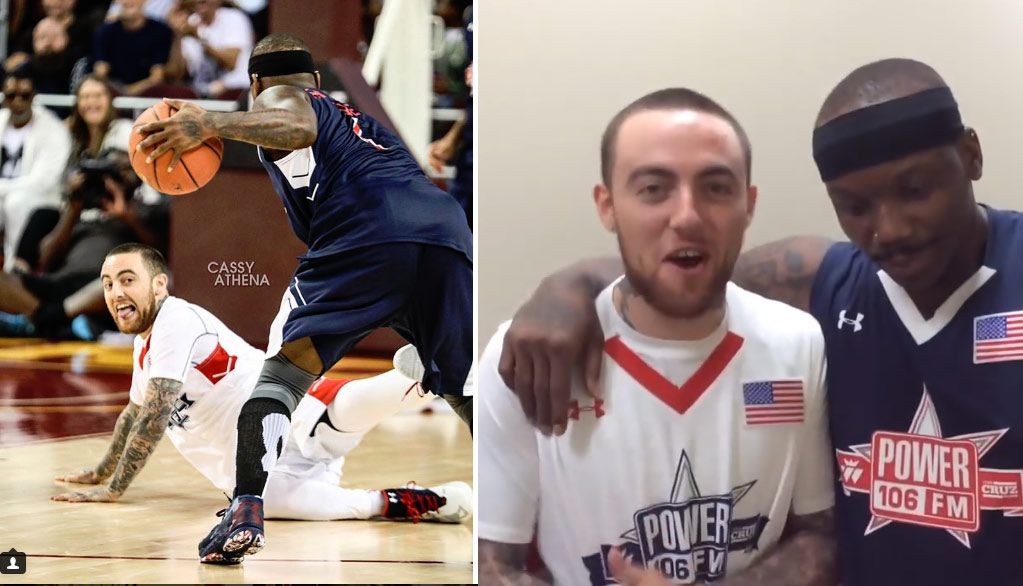 Bone Collector Interviews Mac Miller About Breaking His Ankles In Power106 Celeb Game