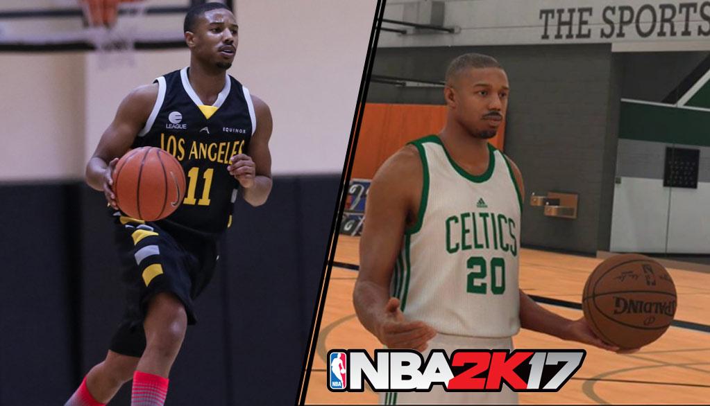 Actor Michael B. Jordan & Creed Writer Re-Team for NBA2K17 MyPlayer Mode