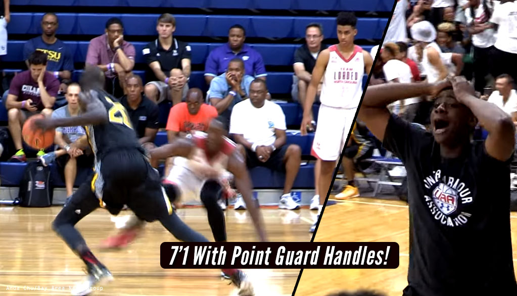 Throwback: 7'1 Thon Maker Breaks Bam Adebayo's Ankles Then Buries A Jumper