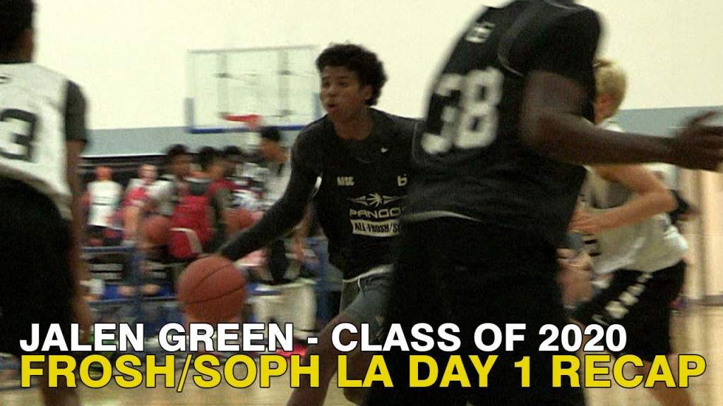 A Young T-Mac? Jalen Green Turns Out Pangos All-West Frosh/Soph Camp!