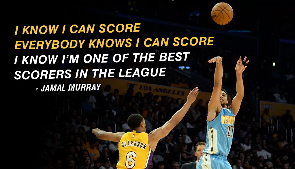 Nuggets Rookie Jamal Murray Is Clutch! 16/7/6 In Comeback Win vs The Lakers