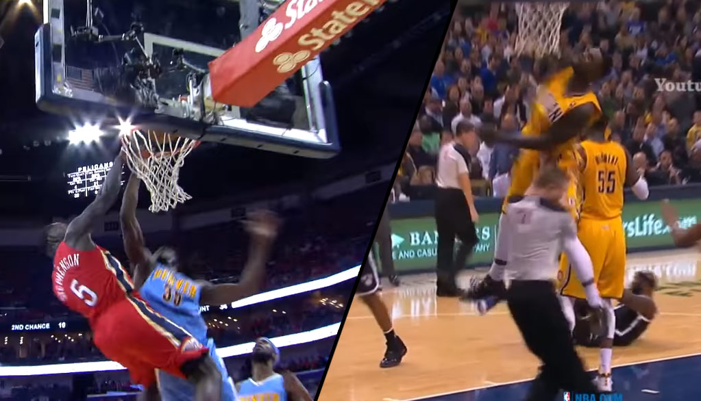 """Lance Stephenson's """"Seizure"""" Dunk On Faried Was His Best Poster Since His Dunk On A Ref"""