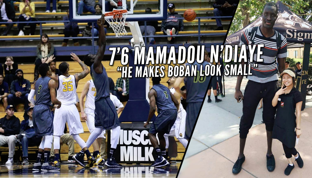 Detroit Pistons Signs 7'6 Mamadou N'Diaye, Tallest NBA Player Since Yao Ming