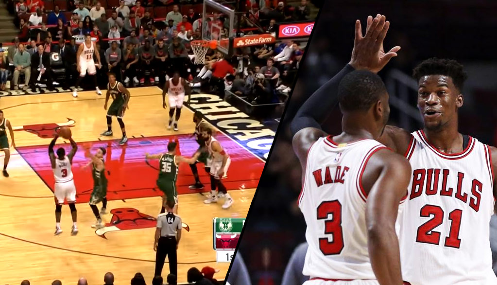 Dwyane Wade – The New 3-Point Threat – Makes His Bulls Debut