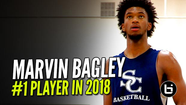 Top Junior Marvin Bagley EASY Work at Alemany Fall Showcase at Sports Academy!