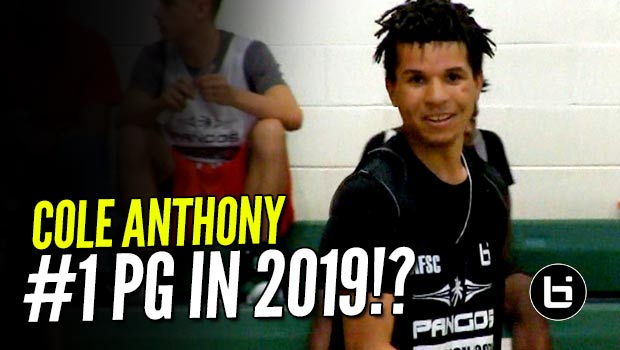 NBA Sons Cole Anthony, Jabri Abdur-Rahim BALL OUT at Pangos East!