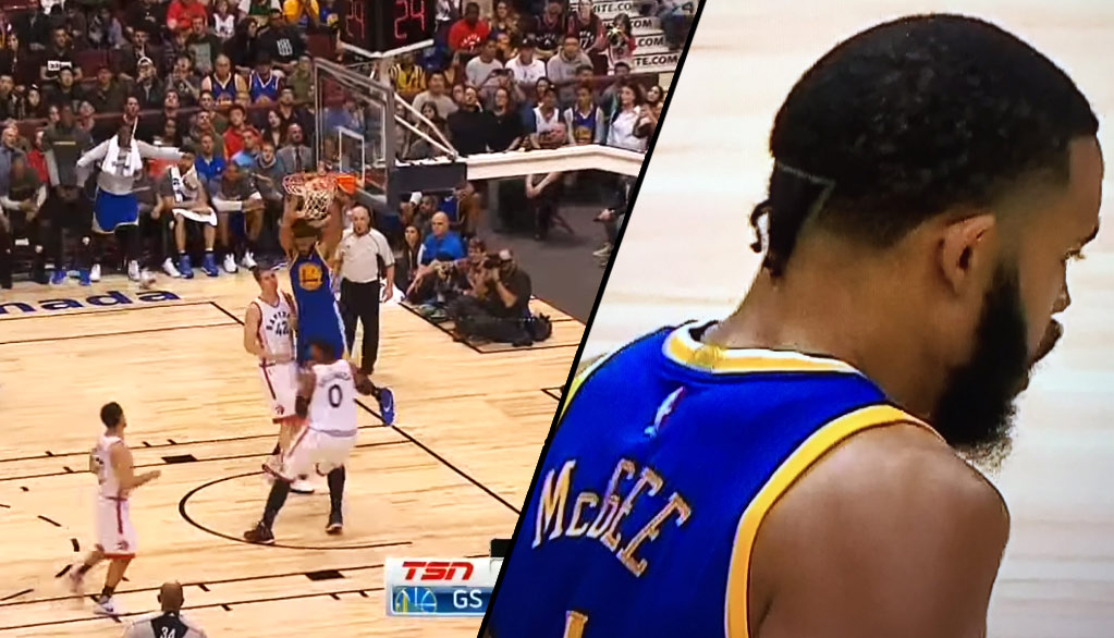 KD Who! JaVale McGee Makes Warriors Debut With 5 Pts, 3 Blks & 1 Unique Hairdo