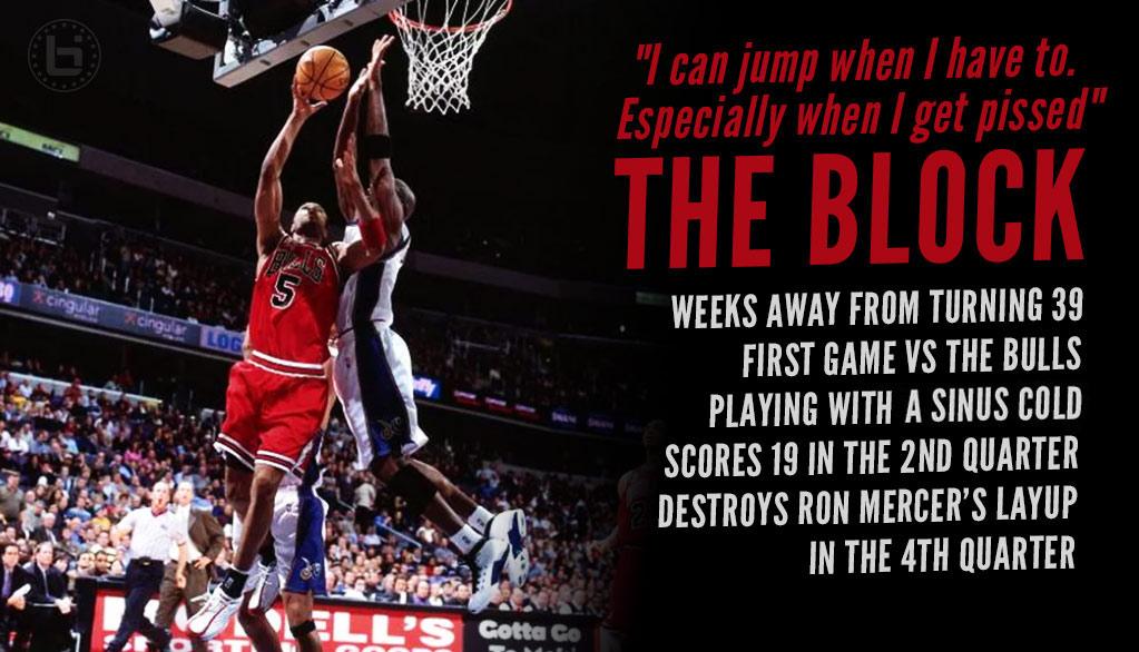"6b22f5a83917 Michael Jordan s ""The Block"" At Age 38   Age 20 - Ballislife.com"