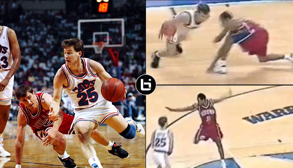 The Originator of Splitting The Defense, Mark Price, Schools A Rookie Allen Iverson