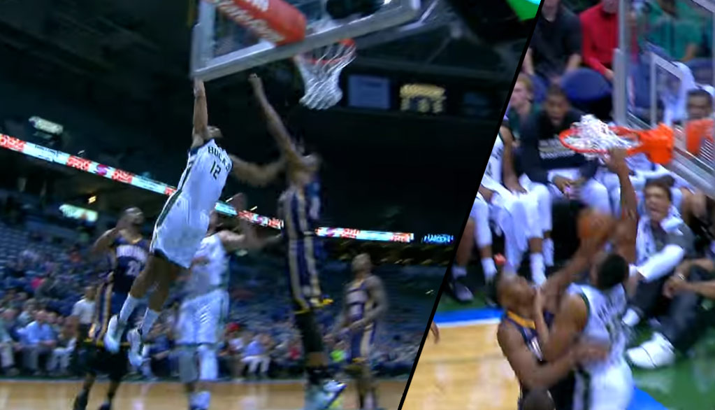 Jabari Parker Continues His Preseason Dunkfest By Posterizing Myles Turner