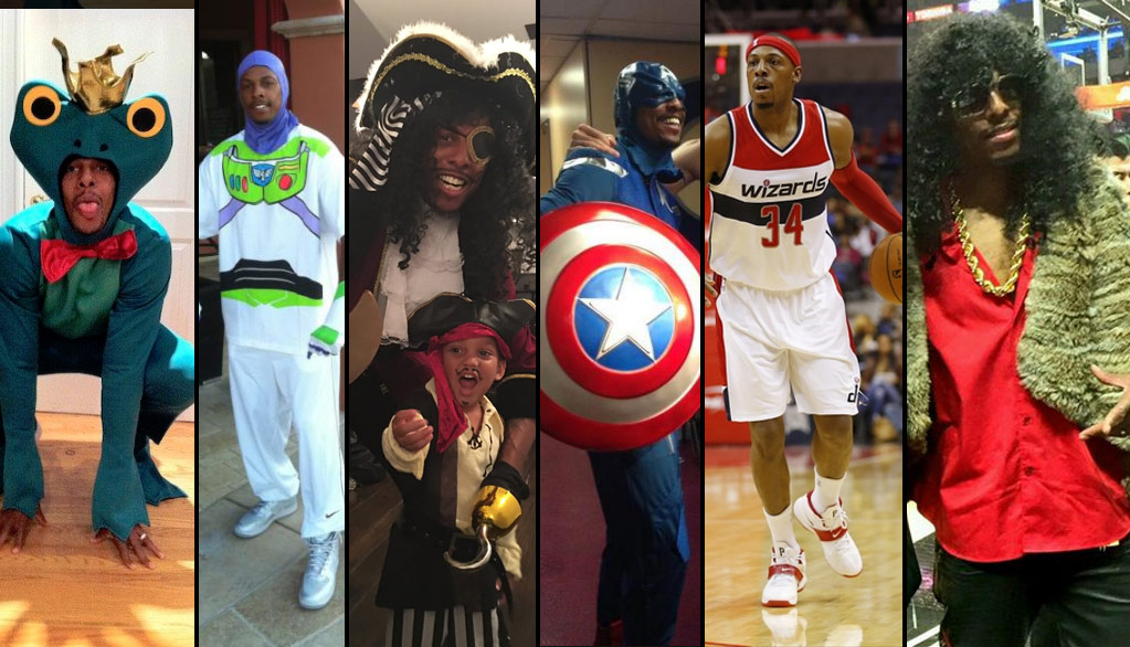 paul pierce as rick james is his best halloween costume yet - Paul Pierce Halloween