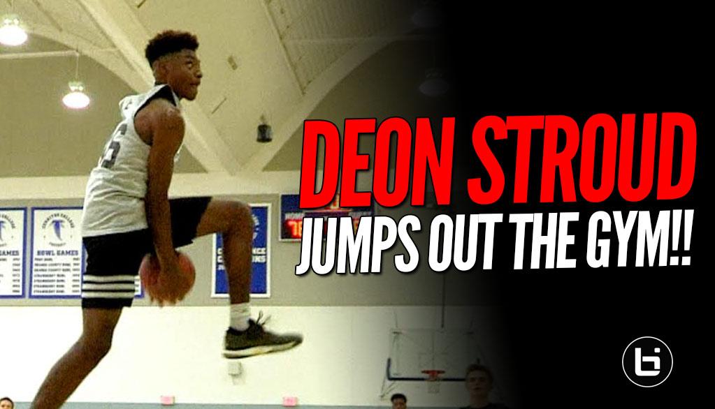 High Flying 10th Grader Deon Stroud Is a Freak Athlete! Breakout Mixtape!