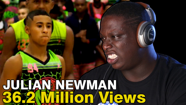 YT Sensation Julian Newman vs Kyree Walker; Cheez Reaction