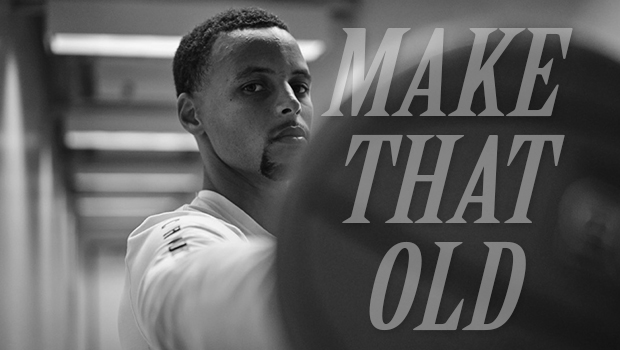 STEPHEN CURRY & UNDER ARMOUR RELEASE 'MAKE THAT OLD' VIDEO
