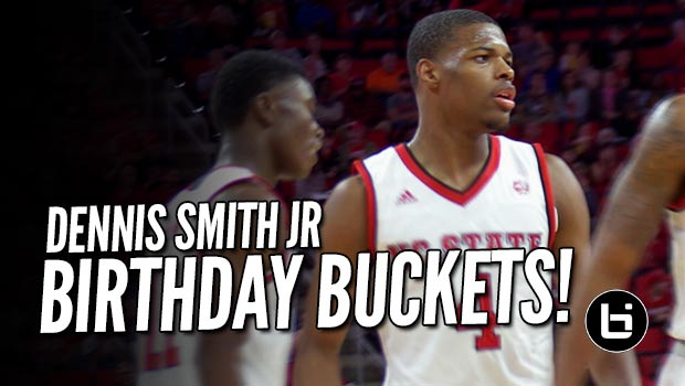 Dennis Smith First 30 pt Game in College a Day After 19th Birthday!