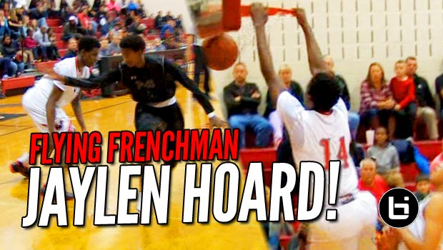 Frenchman Jaylen Hoard Is Wesleyan's New X-Factor!! 3 Game Mix!