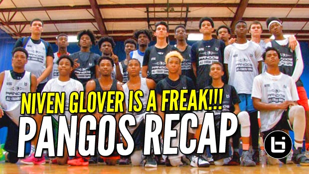 Niven Glover & CJ Walker JUMP Out the Gym at Pangos Southeast Camp!