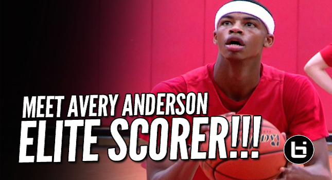 Meet PG Avery Anderson-The Sophomore Scores From EVERYWHERE!