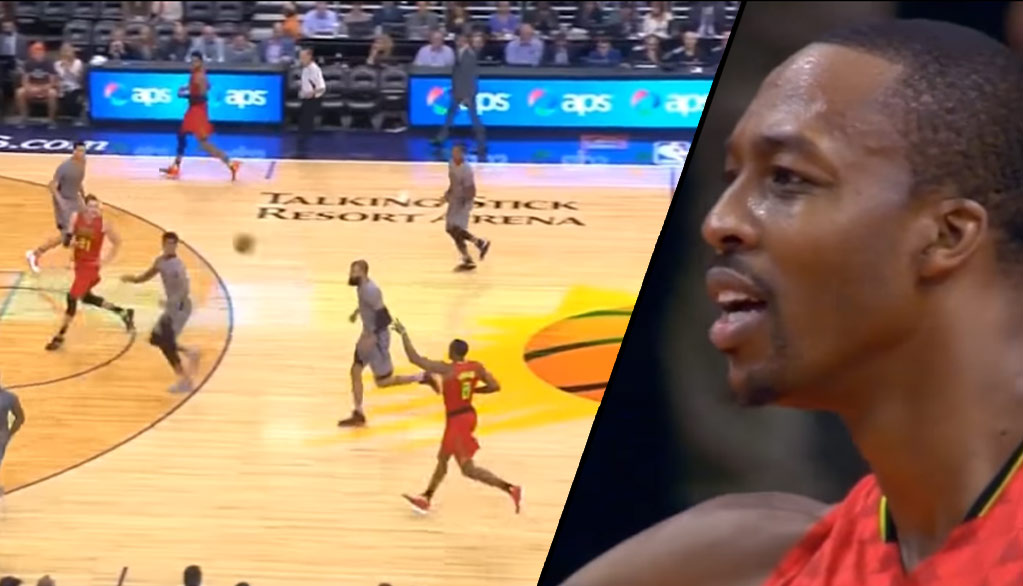 Dwight Howard Tries To Play Point Guard, Blames Teammate After Bad Pass