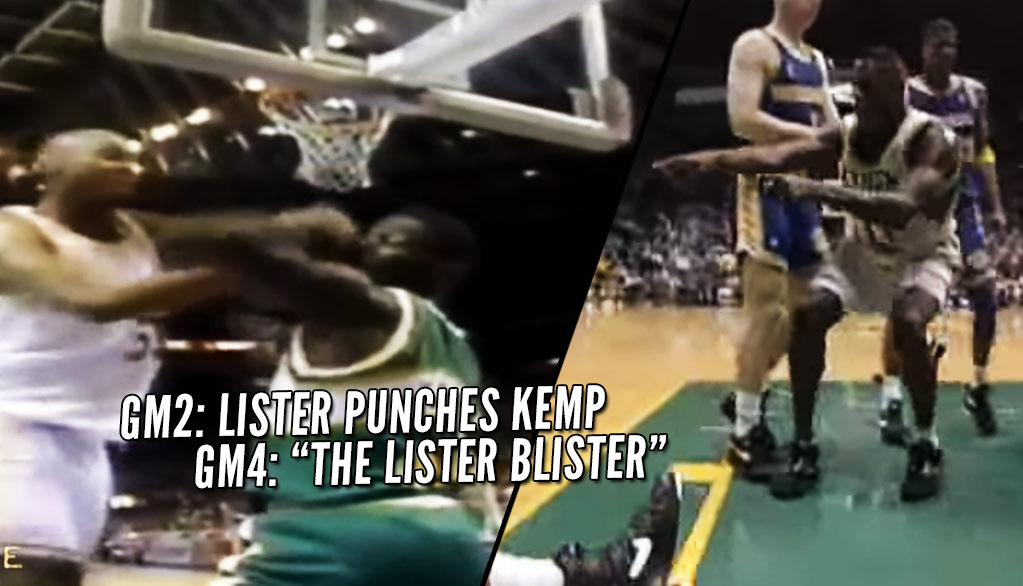 "The Story Behind Shawn Kemp's ""Lister Blister"" Revenge Dunk"