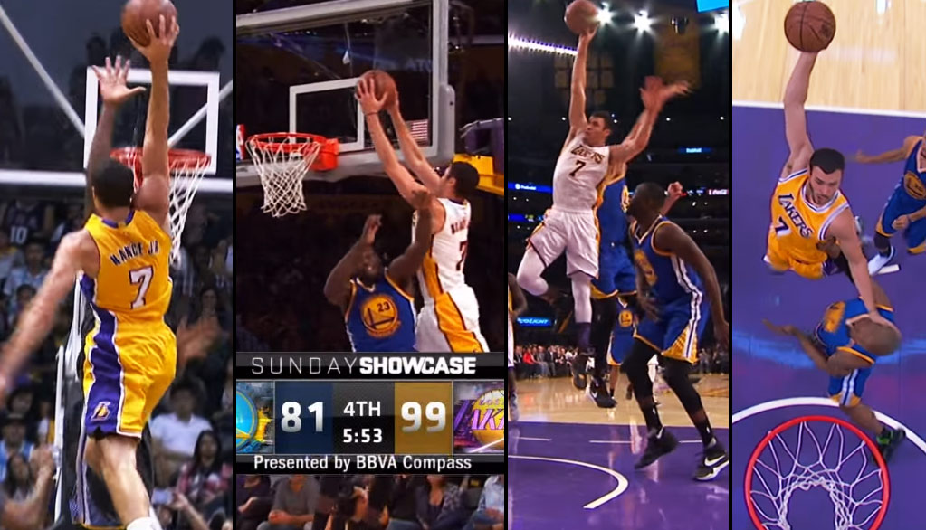 Larry Nance Jr Continues to Make Posters Out Of Golden State Warriors