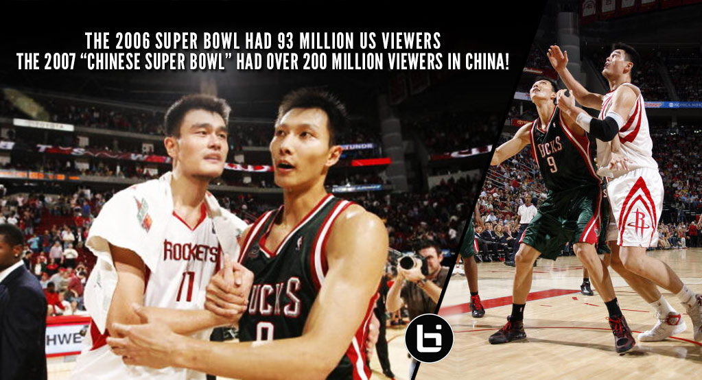 "Remembering The ""Chinese Super Bowl"" Between Yao Ming & Yi Jianlian in 2007"