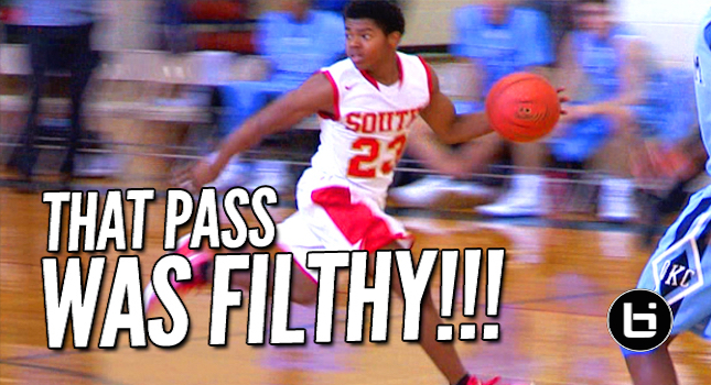 5'6″ Bryce Cook With The Dirty Spinning Behind The Back Pass! Top Plays