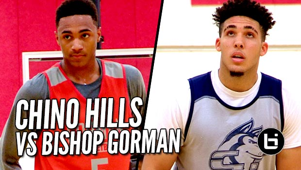 Chino Hills vs Bishop Gorman FULL Raw Highlights! Super Entertaining Match-Up at The League!