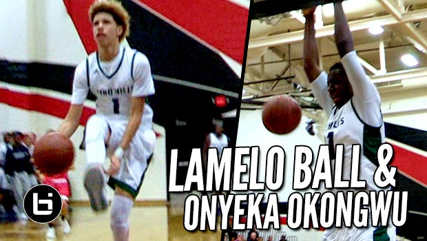 LaMelo Ball Throws SICK Between The Legs Oop to Onyeka & Dad Goes Crazy!