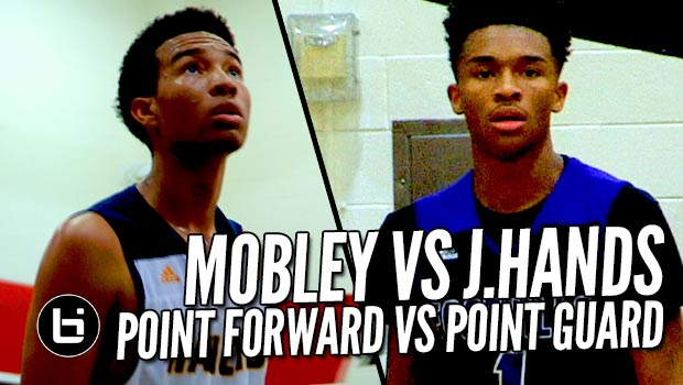 Jaylen Hands vs Isaiah Mobley; Point Guard vs Point Forward Highlights at The Battlezone!