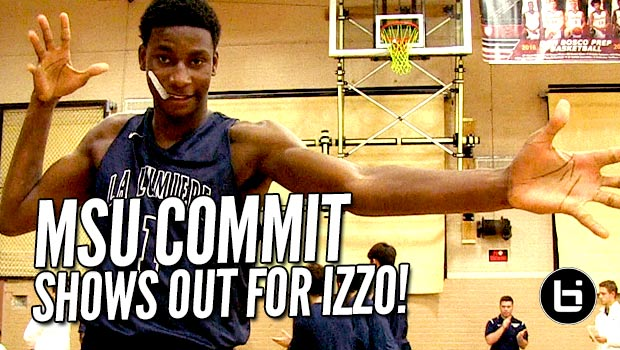 MSU Commit Jaren Jackson Jr. Shows Out for Izzo! Skilled 5-Star, 6'10 17 Year Old Leads FAB 50 #2 La Lumiere!