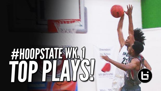 Blake Harris & Coby White Poster Dunks Headline Phenom National Top Plays! #HoopState Season Kickoff!