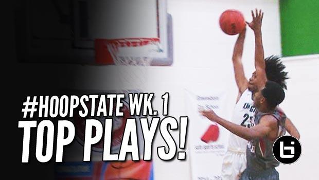 Blake Harris & Coby White Poster Dunks Headline Phenom National Top Plays! #HoopState Season Kickoff!