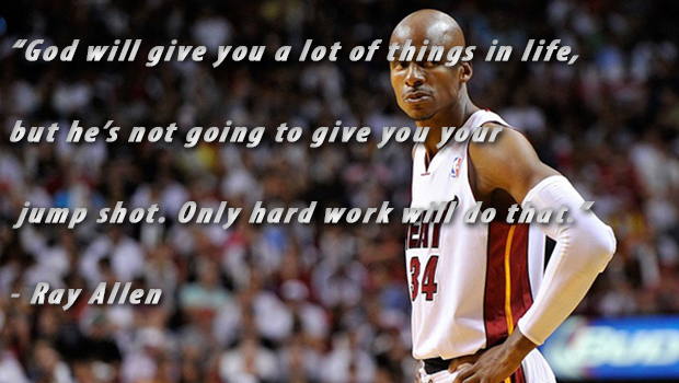 READ RAY ALLEN'S LETTER TO HIS YOUNGER SELF UPON RETIREMENT
