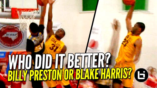 Oak Hill v. Word of God; Who Had the Better POSTER Dunk?! Blake or Billy??