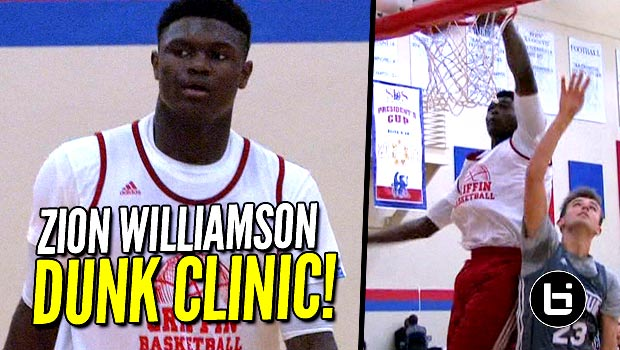 Zion Williamson Finished CRAZY DOUBLE Alley-Oop Play! Full Game Raw Highlights!