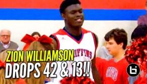 ZionWilliamson42&13