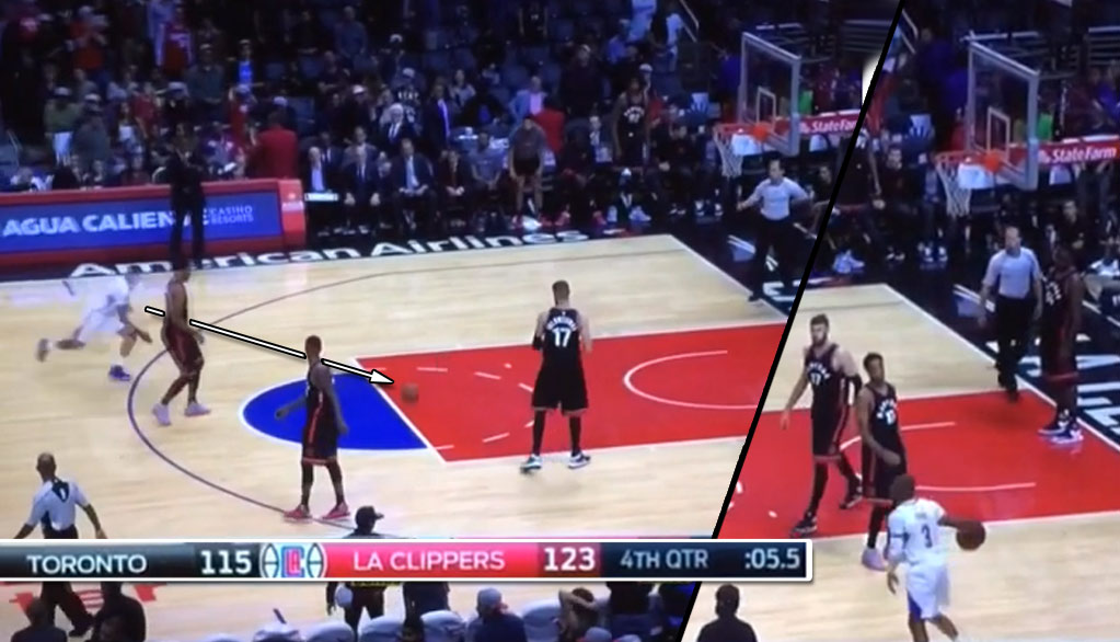 Up By 8 With 5 Seconds Left, Chris Paul Steals The Ball From DeRozan…Because He's Chris Paul