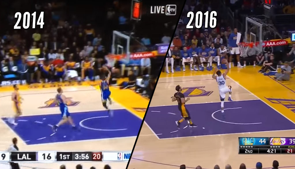 Déjà Vu: Steph Curry Misses A Wide-Open Dunk Vs The Lakers, Blames Thanksgiving Meal