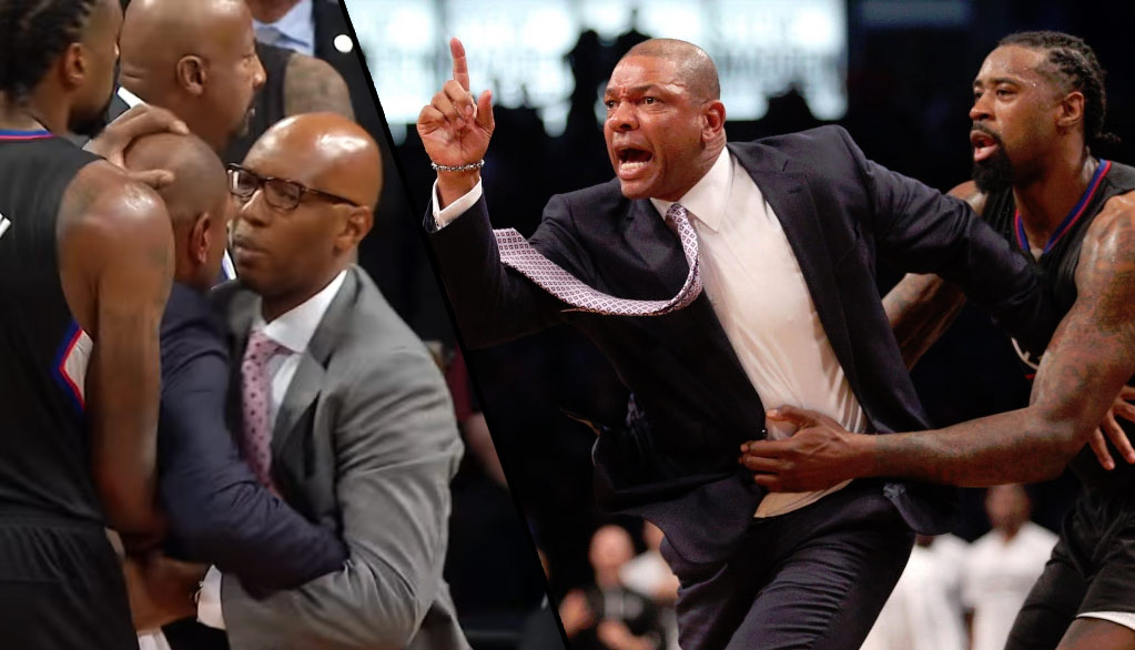 Doc Rivers Loses It, Gets Ejected In Wild Double OT Loss To The Nets