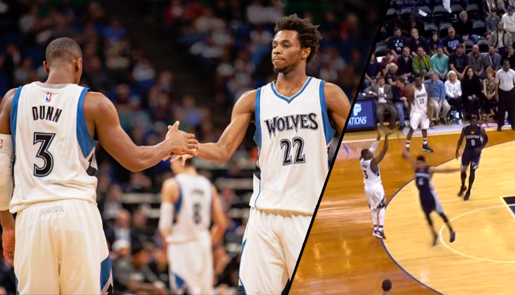 Kris Dunn Impresses In First NBA Start, Wolves Beat Grizzlies By 36 For First Win Of The Season