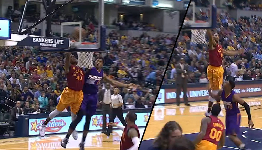 Glenn Robinson III With The Dunk AND Block Of The Night Vs Suns