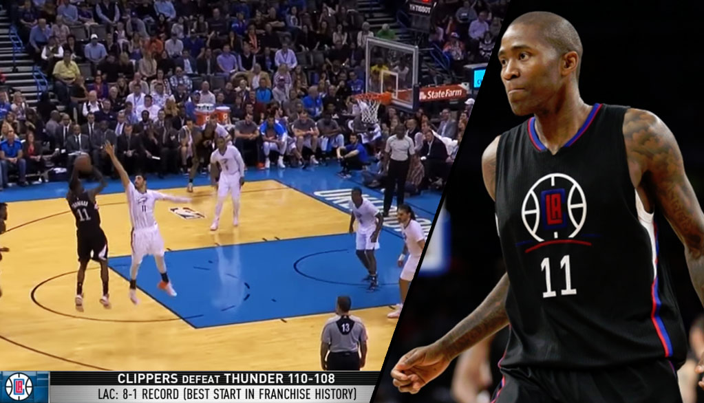 Jamal Crawford Breaks Out Of Shooting Slump Vs Thunder, Avenges The Clippers Only Loss