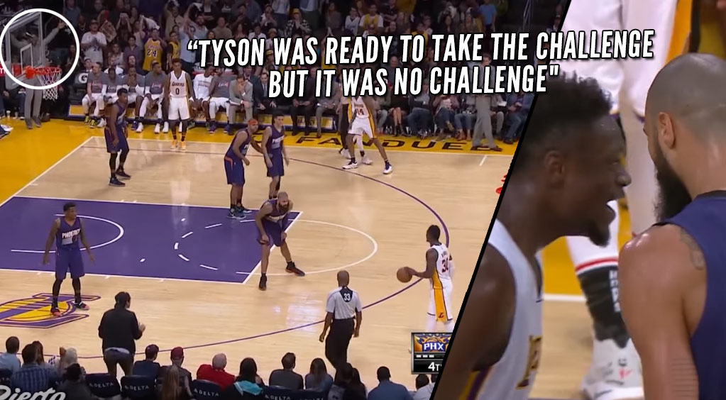 MWP & Crowd Goes Crazy When Julius Randle Goes 1-on-1 With Tyson Chandler After Altercation