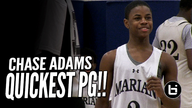 5'6 Chase Adams Is the Quickest PG! Ballislife Summer Mixtape