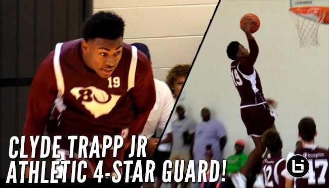 Clyde Trapp Jr. Jumps Out the Gym! SC Guard Set to Choose from Top 3!