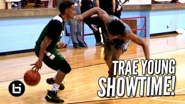 The Trae Young Show At Elite 14 Showcase! Raw Highlights