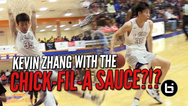 Kevin Zhang Gets Saucy During Day 2 of Chick-Fil-A Classic
