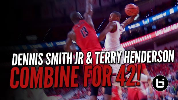Dennis Smith Jr & Terry Henderson Combine for 42/12/12 Over Fairfield!
